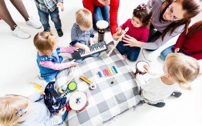 Muziek op Schoot 0-4 jaar