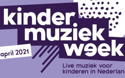 Kinder muziekweek 9-18 april 2021!