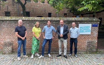 Muziekschool Zeeland, Toonbeeld en Bax Music starten Muziekdepot Zeeland